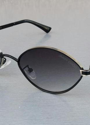 Jimmy choo очки женские солнцезащитные узкие модные темно серые с градиентом