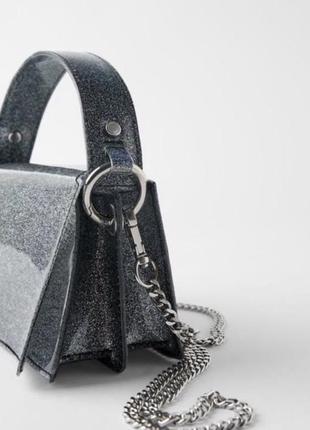 Роскошная сумка на цепочке