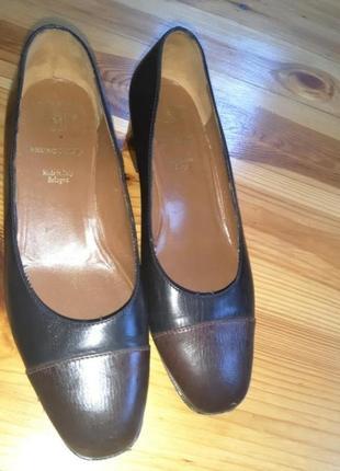 Итальянские брендовые туфли кожа