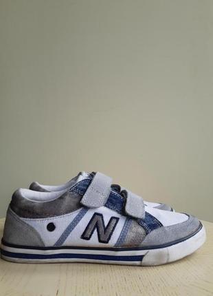 Оригинал. new balance  кроссовки кеды  замша+ ткань+джинс