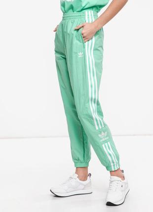 Adidas трендовые нейлоновые джоггеры спортивные штаны спортивки адидас женские мятные