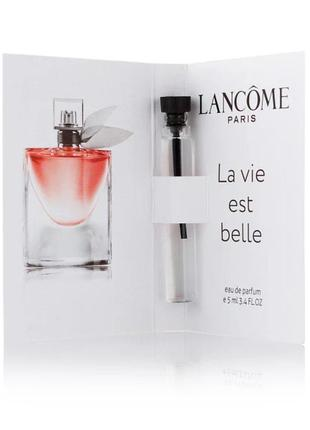 Жіноча парфумована вода (пробник), lancome la vie est belle - 5 мл