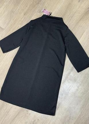 Новое платье гольф ровного кроя