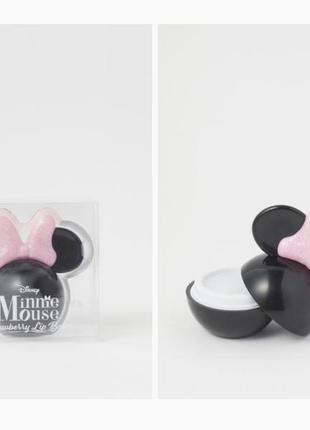 Новый клубничный бальзам для губ минни маус h&m