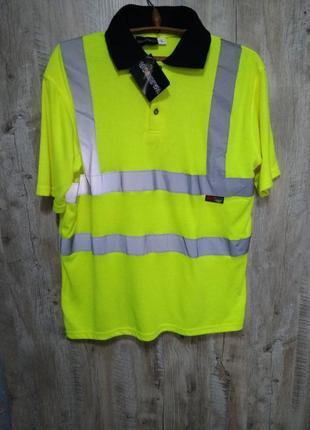 Новая рабочая футболка  с светоотражателями warrior размер l (48-50) на рост 194-200 см