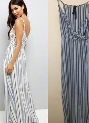 Льняной сарафан платье французского бренда je m,appelle