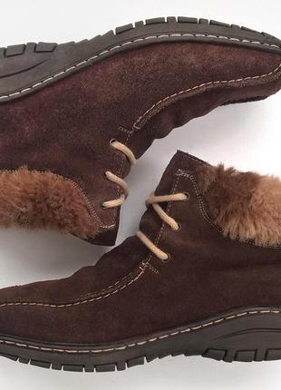 Уютные зимние ботиночки rieker