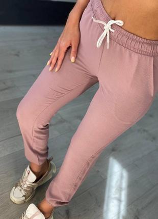 Штаны штани ткань креп жатка