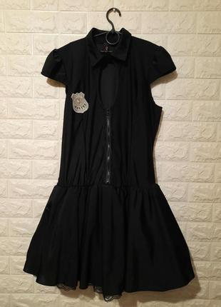 Эротическое платье полицейского, игровое платье