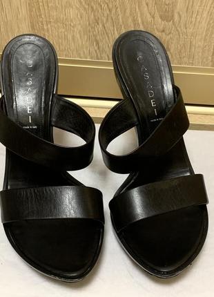Туфли casadei кожа номерные