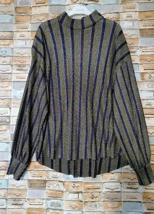Шикарная блуза гофре