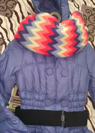 Пуховое пальто sacage
