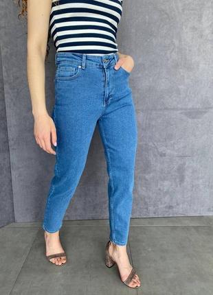 Женские джинсы мом трендовые женская одежда осень весна лето