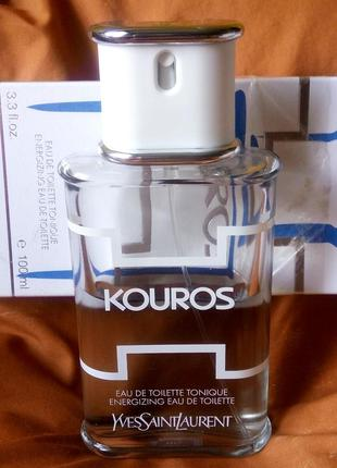 Yves saint laurent kouros energizing 5 мл, оригинал, в атомайзере