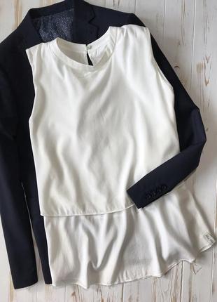 Нежная шёлковая блуза премиум бренда henry christ