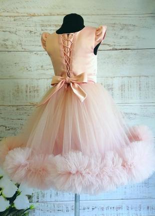 Выпускной детское платье, пышное детское платье., праздничное платье, пышное платье