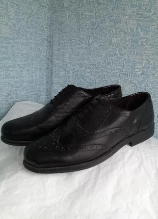 Мужские туфли броги оксфорды clifford james англия