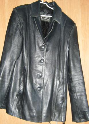 Пиджак из натуральной кожи. розпродаж. ціна зменшена з 350 до 150