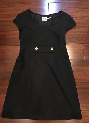 Чёрное платье juicy couture