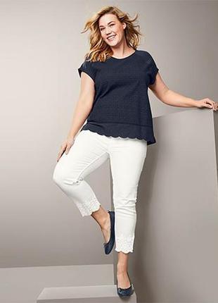 Шикарные летние джинсы l 46 евро тсм tchibo.