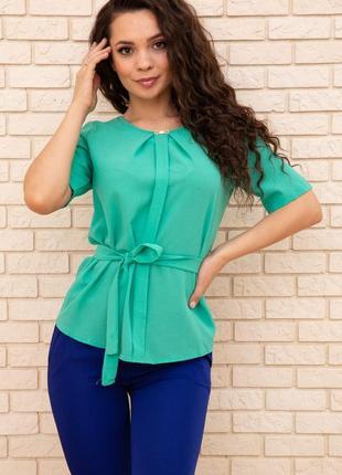 Блуза женская 172r22 цвет зеленый 57371
