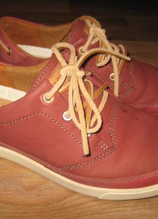 Кожаные туфли ecco оригинал - 43 размер