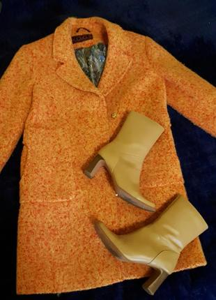 Шерстяное пальто + сапоги в подарок