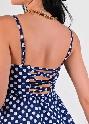 Стильное женское платье лето