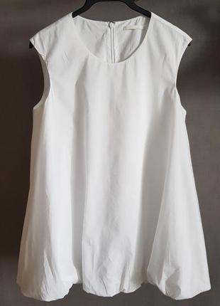 Белый топ блузка cos