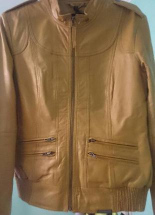 Куртка натуральная кожа fornarina
