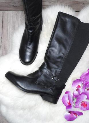 Кожаные осенние сапожки footglove! 40 р.