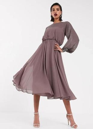 Шикарное платье 46-48 размер