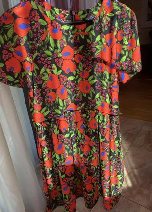 Платье яркое topshop