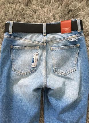 Бомбические джинсы от zara состояние новых.