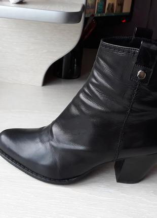 Ботинки кожаные stuart weitzman испания