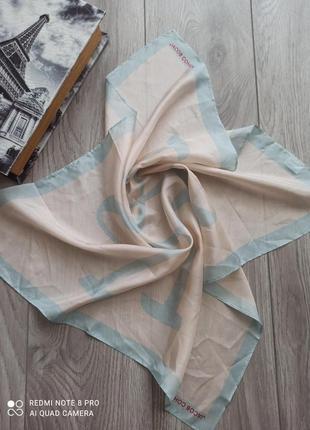 Шовковий поаток шарф хустка хустинка