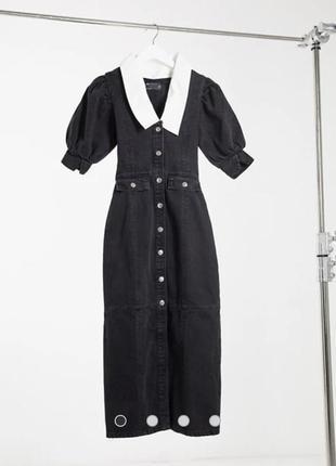 Стильное джинсовое платье asos