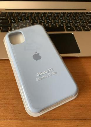 Чехол на iphone 11 silicone case