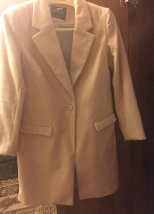 Пальто бойфренд размер xs-s