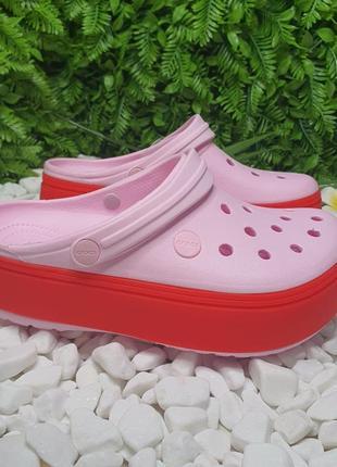 В наличии сабо кроксы crocs platform 35-39