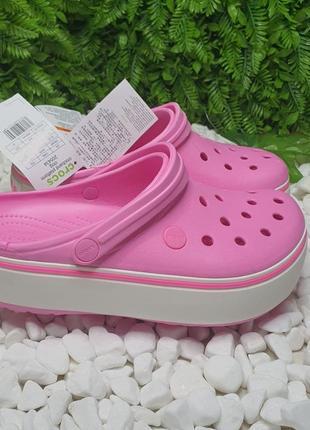 Сабо кроксы crocs platform 35-39