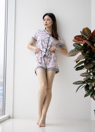 Комплект для дома (пижама) на пуговицах