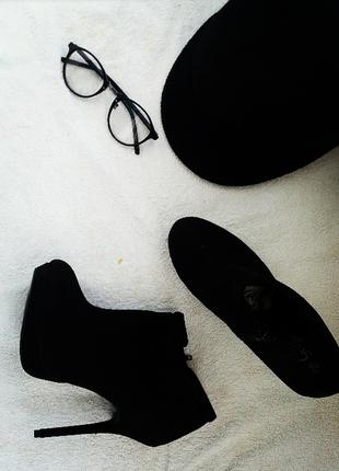 Элегантные сапоги ботинки ботильоны