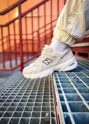 """🔥new balance 530 """"white/cream"""" кроссовки нью баланс наложенный платёж купить"""