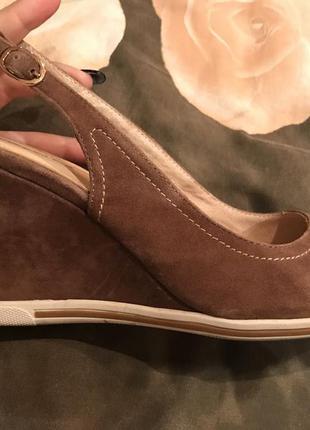 Замшевые туфельки миратон attizare