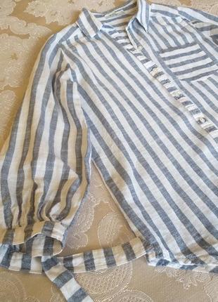 Рубашка лён colin's