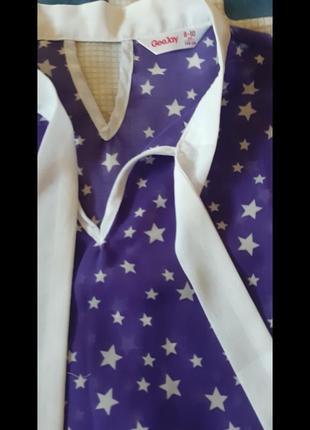 Блузка туника на девочку3 фото