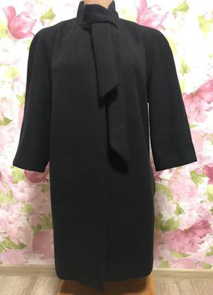 Шикарное пальто/ хорошая длина/14-16 италия