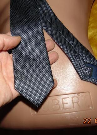 Стильний деловой нарядний шелковий брендовий галстук jake's.с-м-л-хл .
