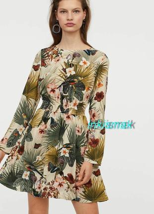 Платье h&m uk 12, eur 40 вискоза